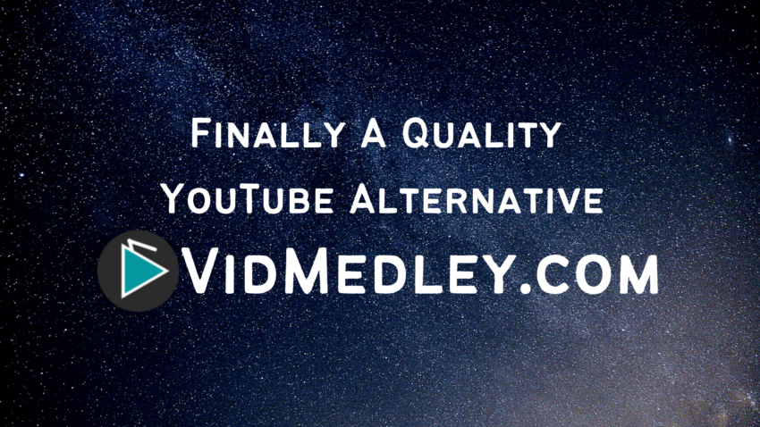 VidMedley youtube alterative